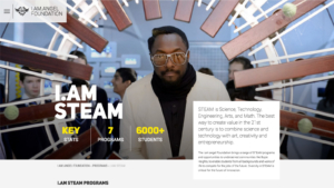 Will.I.Am website page hero