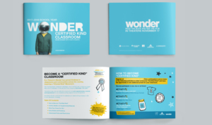 print and graphic design Wonder Certified Kind