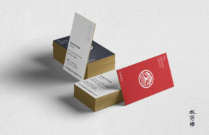 los angeles japanese garden business cards