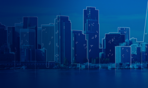 Salesforce Connected Cities Illustration